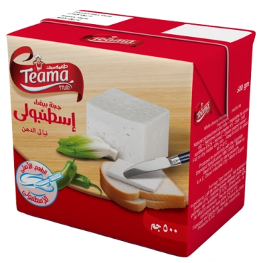 TEAMA WHITE CHEESE ISTANVOLY